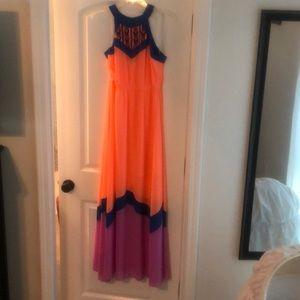 GB maxi dress size small